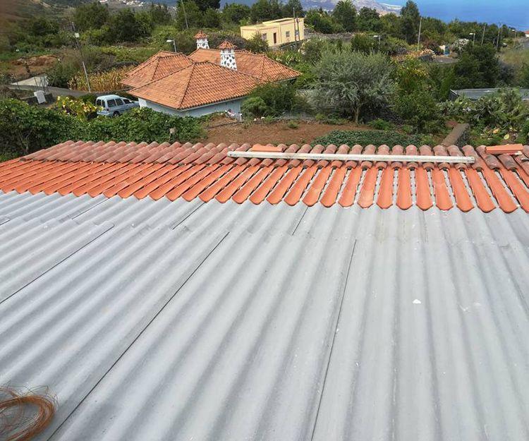 Restauración de tejados en Santa Cruz de la Palma
