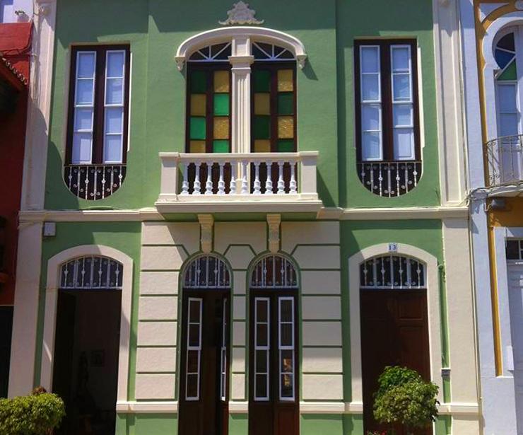 Rehabilitación de fachadas en Santa Cruz de la Palma