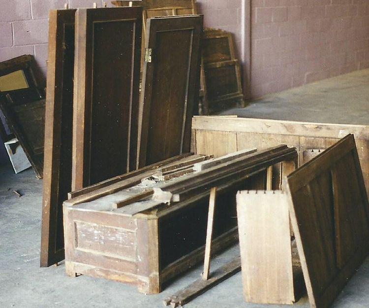 Muebles antiguos con alma