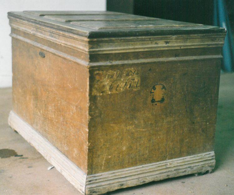 Restauración de baúl antiguo