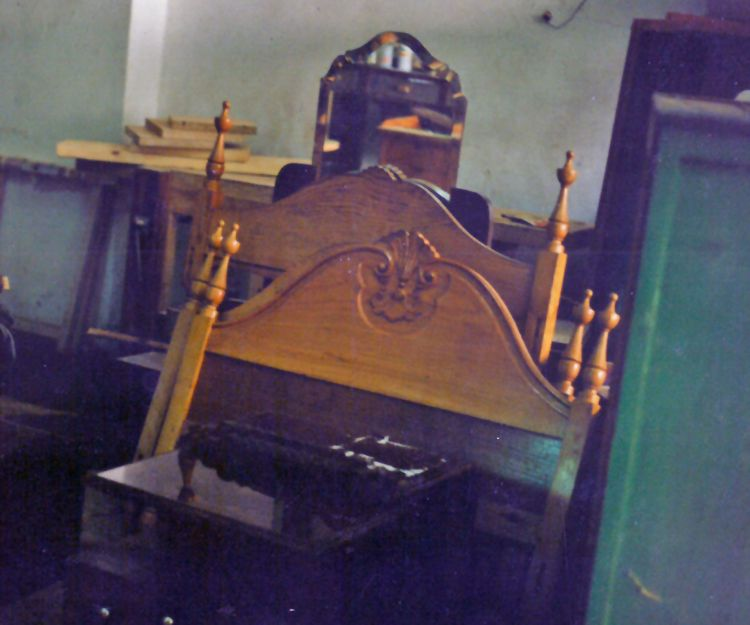 Restauración de cabeceros de madera