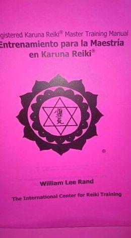 28 y 29 de Enero 2017 Curso de Master Karuna Reiki