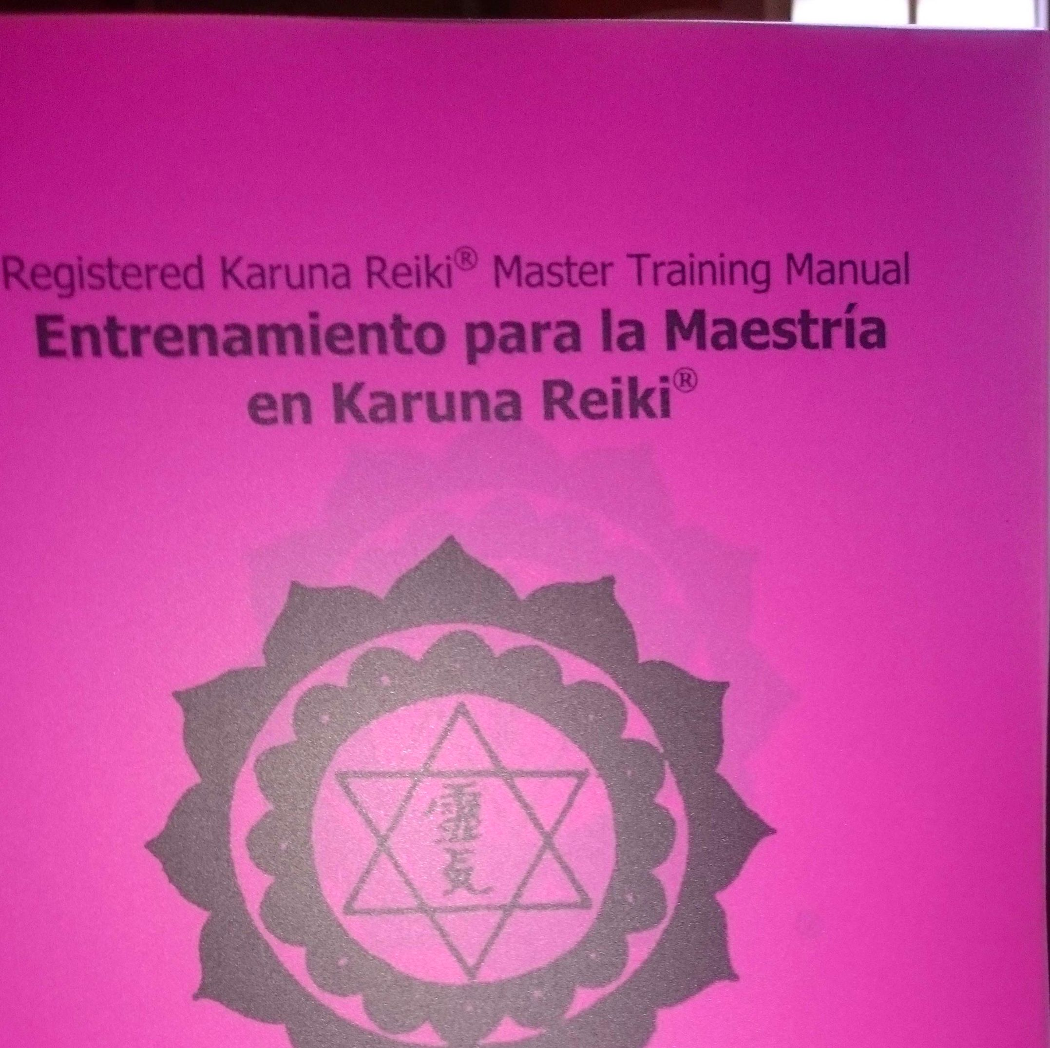 Diplomas originales Karuna-Reiki William Lee Rand.
