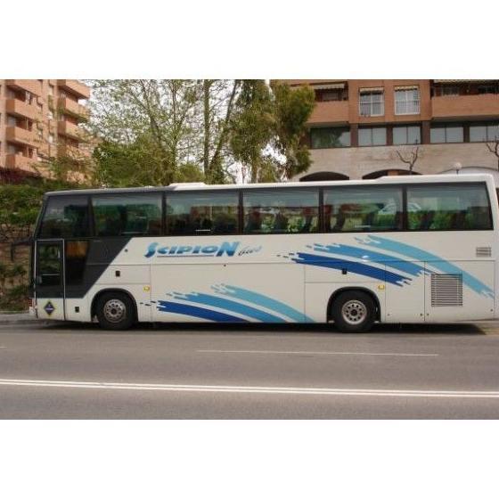 Traslados desde y hasta el aeropuerto: Servicios de Scipon Bus