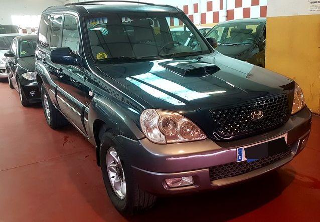 Compraventa de coches en Arganda del Rey: Hyundai terracan 2. 9crdi GLS