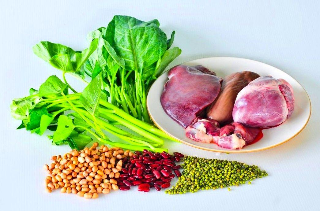 Los 10 alimentos más altos en hierro. Centro Psicología Bienestar de Alcobendas