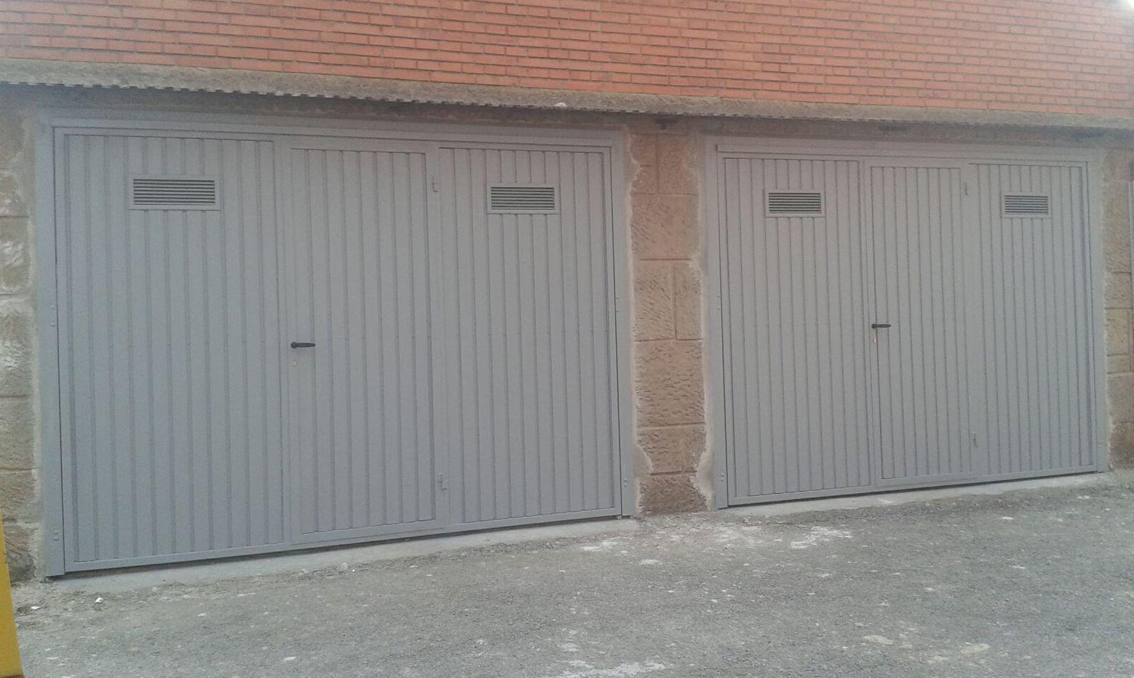 Portones met licos en ribadesella met licas torca for Garajes metalicos en bolivia