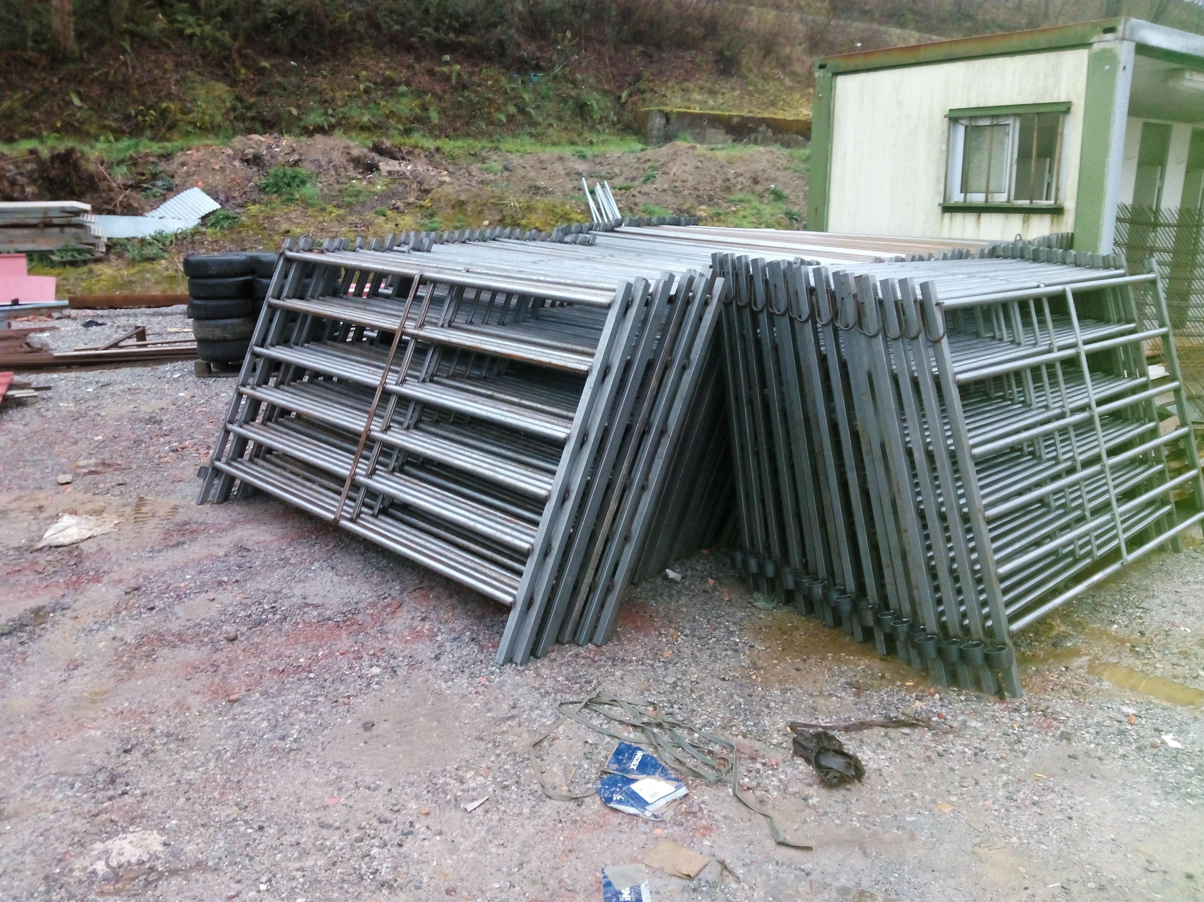 Construcciones metálicas para ganadería