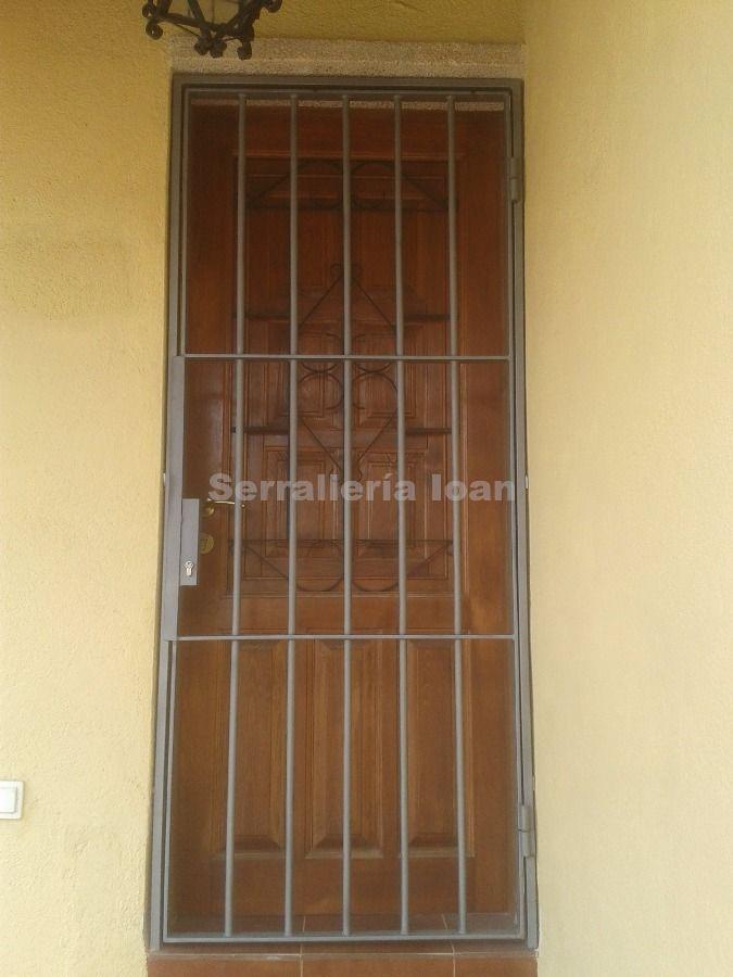 Rejas (puertas):  de Serrallería Ioan