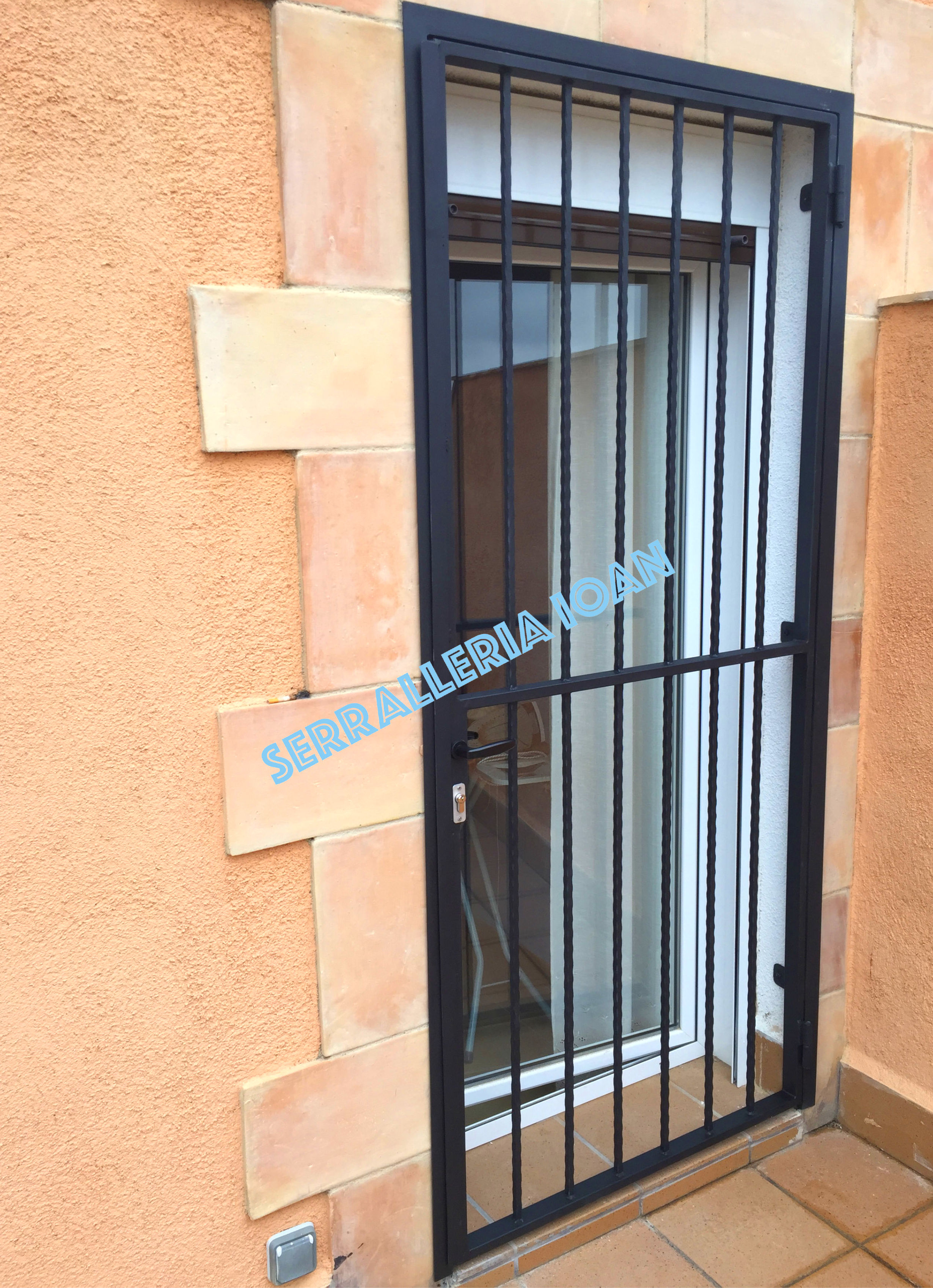 Puerta Reja Forja