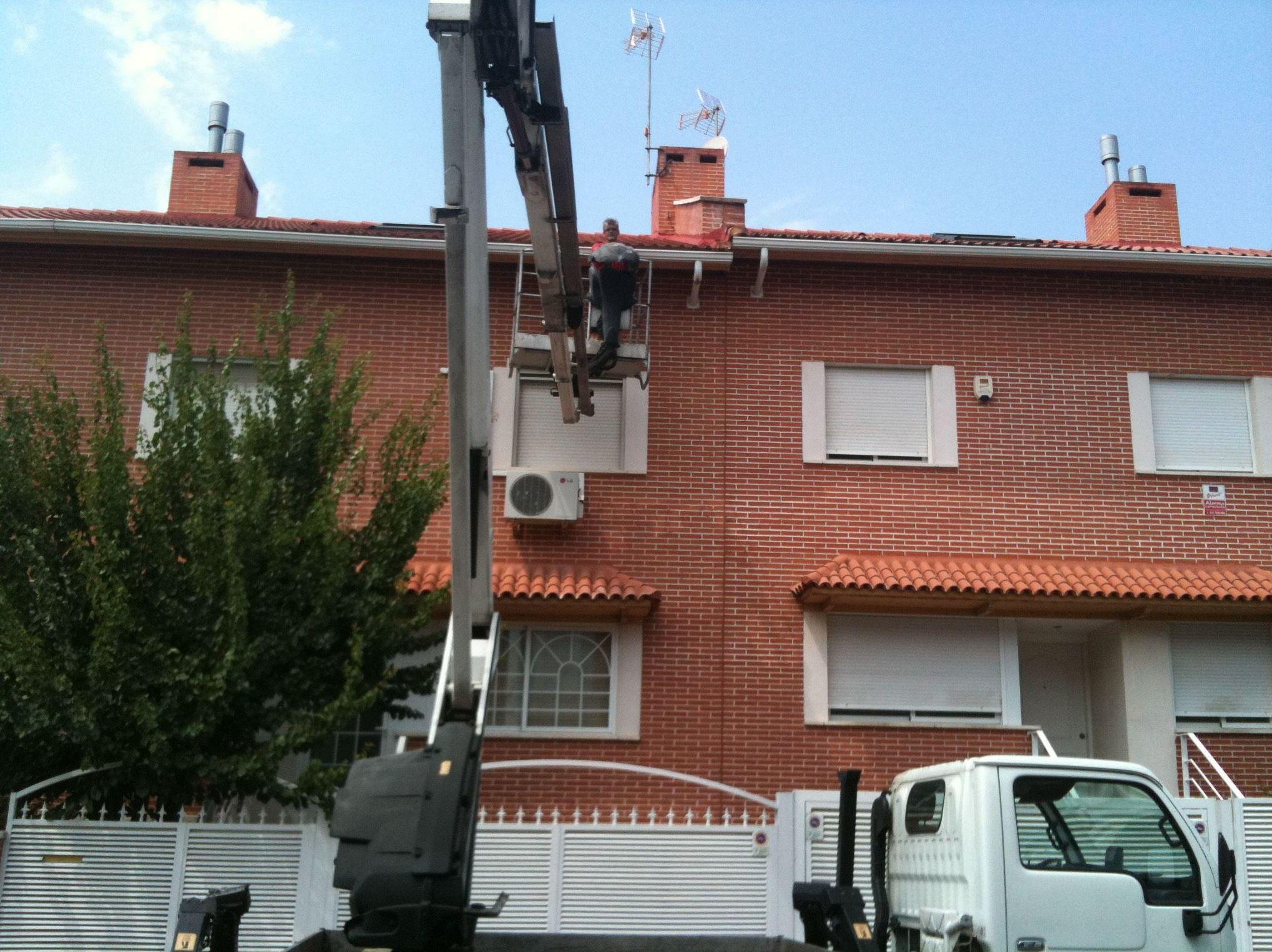Foto 15 de Canalones en Alcalá de Henares | Alcarria Pluviales Canalones