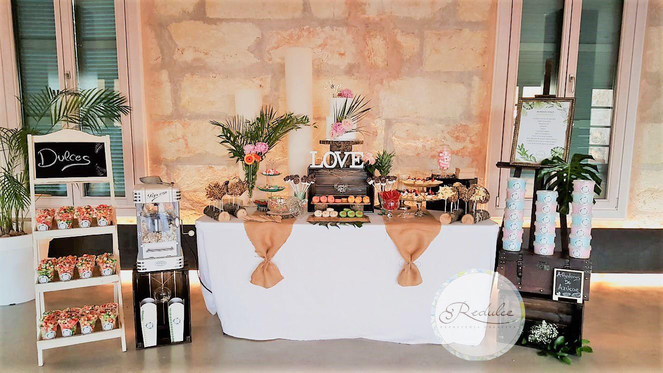 Mesas dulces por encargo en Palma de Mallorca