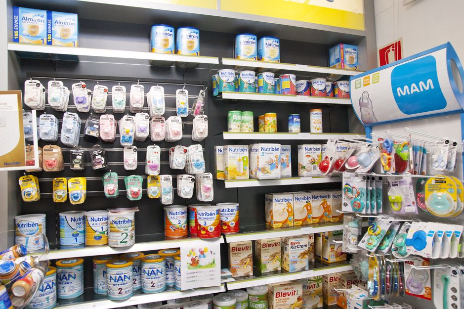 Productos de puericultura y alimentación infantil en Elgoibar