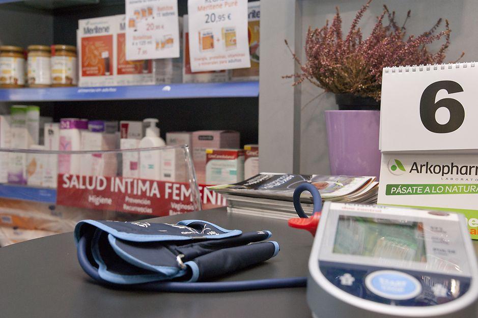Control de la tensión arterial en Farmacia Garitaonandia, Elgoibar