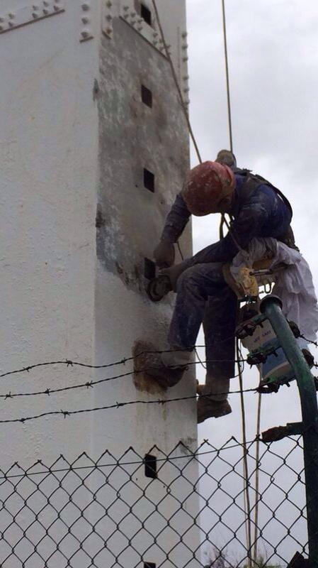 Foto 294 de Trabajos verticales en Tuineje | Vertimax