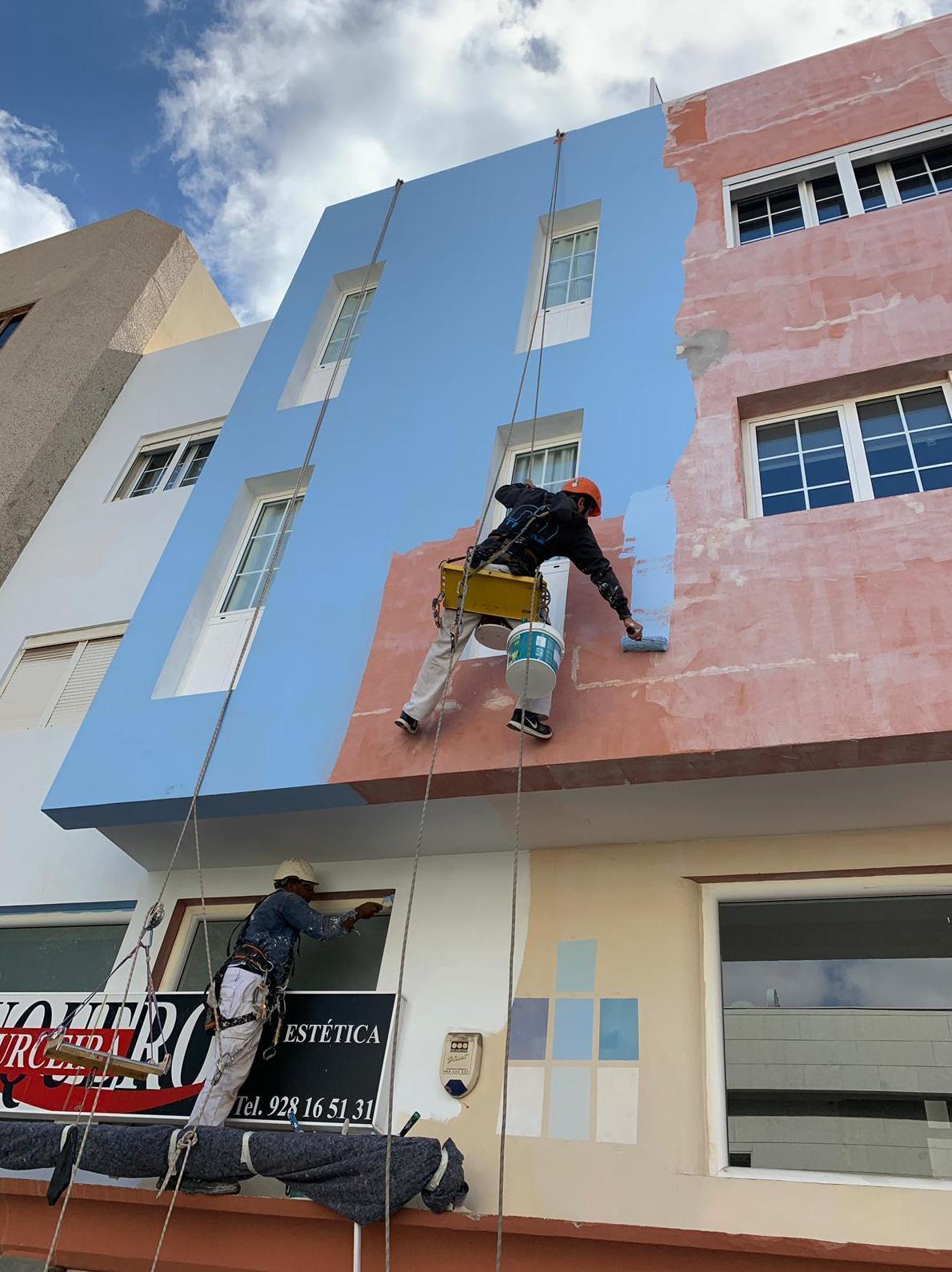 Foto 20 de Trabajos verticales en Tuineje | Vertimax