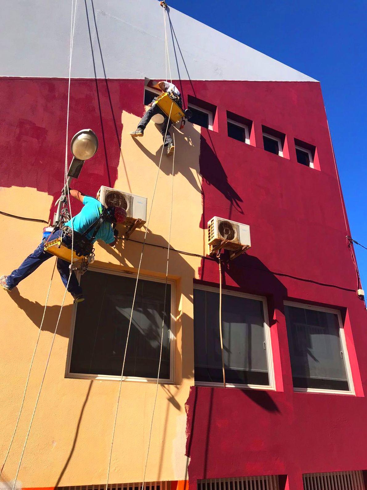 Foto 108 de Trabajos verticales en Tuineje | Vertimax