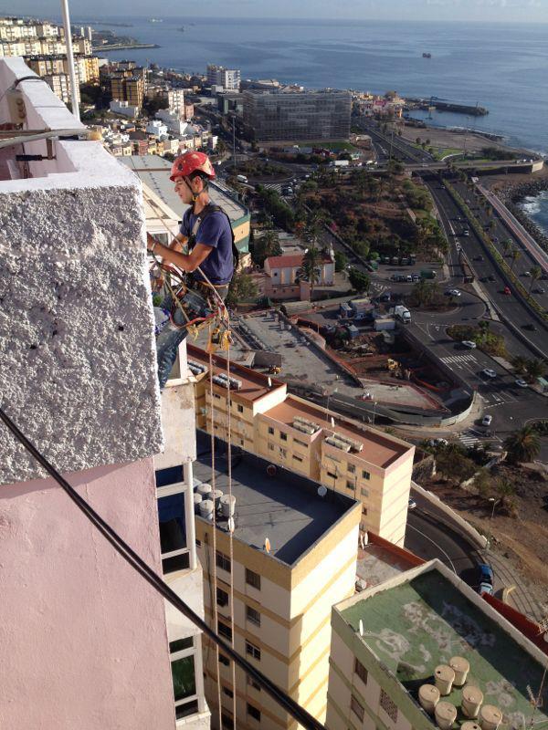 Rehabilitación de fachada (Hoya de plata - Las Palmas de Gran Canaria)
