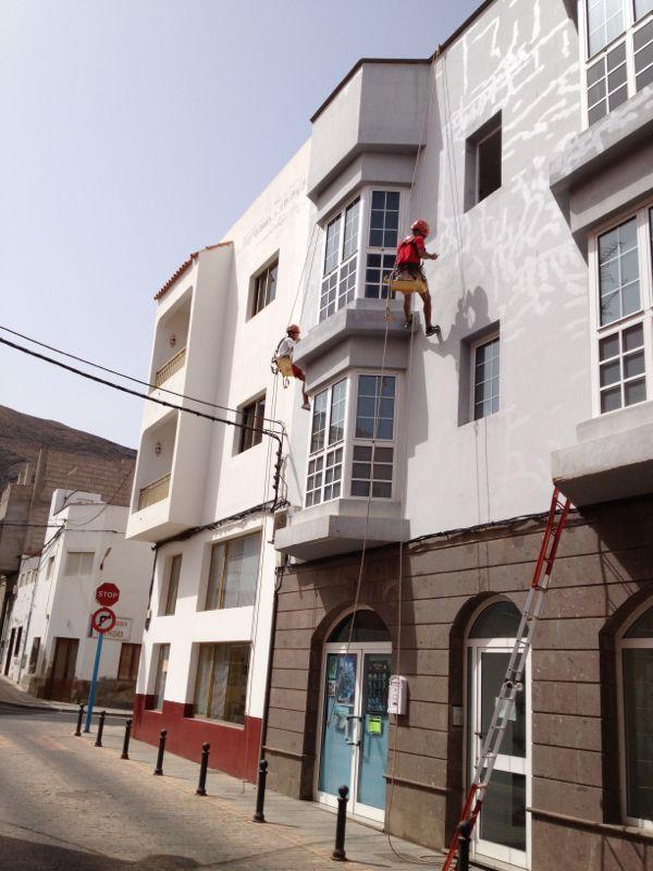 Rehabilitación de fachada (FUERTEVENTURA)