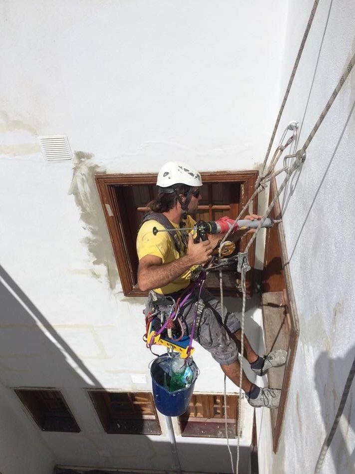 Foto 281 de Trabajos verticales en Tuineje | Vertimax