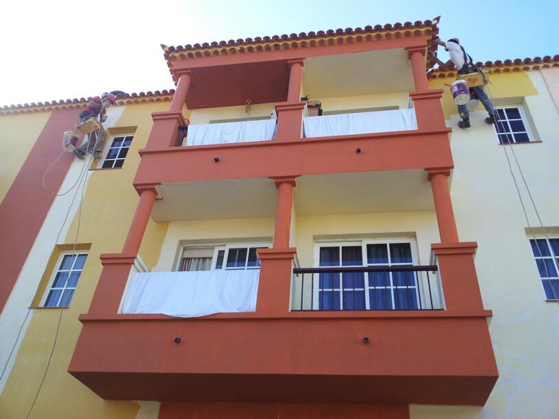 Rehabilitación de fachada la camella (ARONA-TENERIFE)