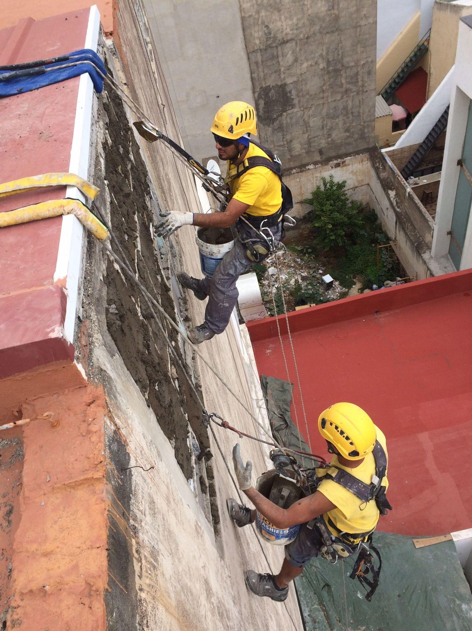 Foto 283 de Trabajos verticales en Tuineje | Vertimax