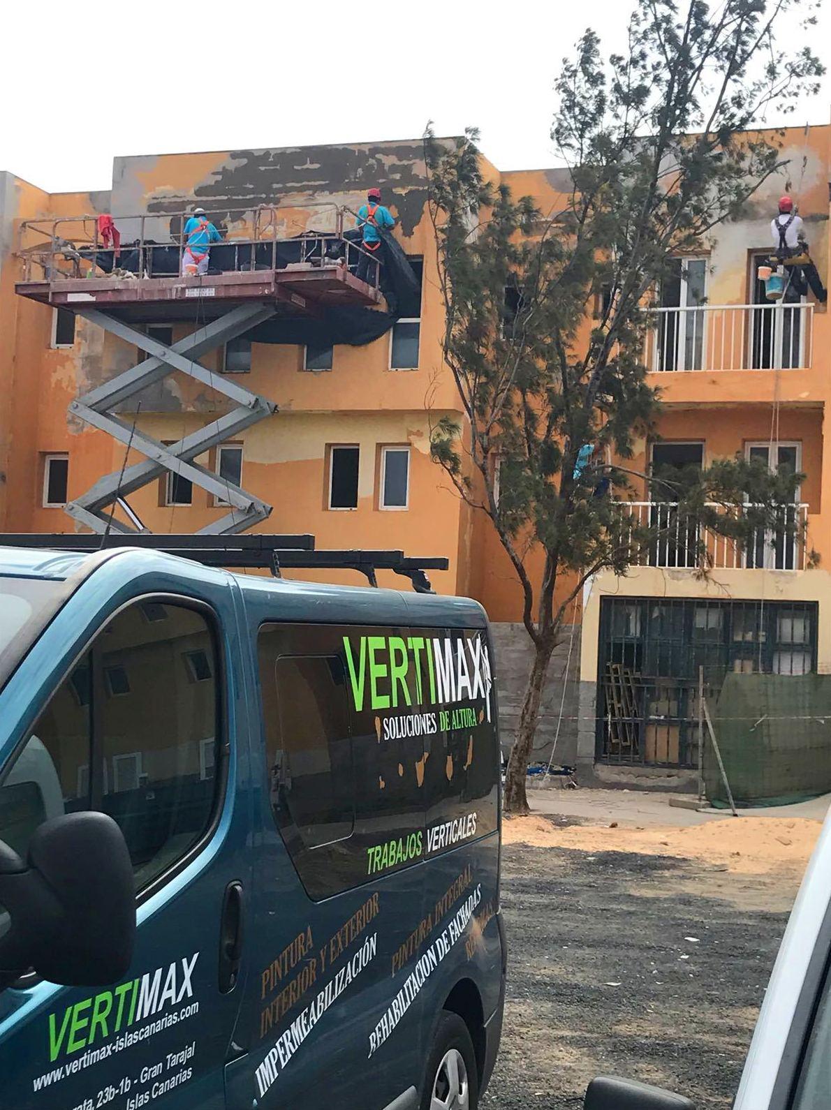 Foto 35 de Trabajos verticales en Tuineje | Vertimax