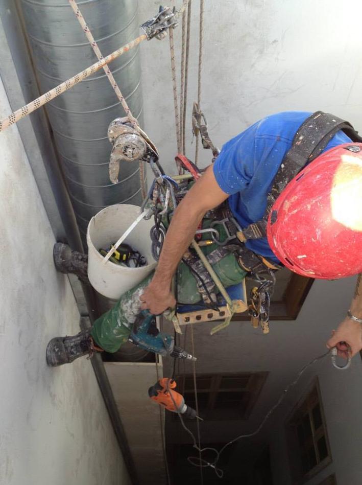 Trabajos verticales Fuerteventura