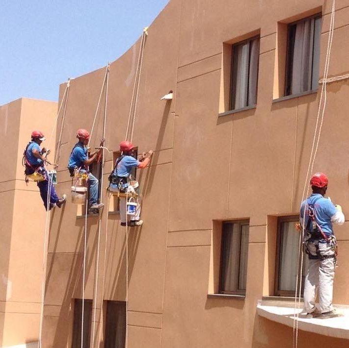 Foto 318 de Trabajos verticales en Tuineje | Vertimax
