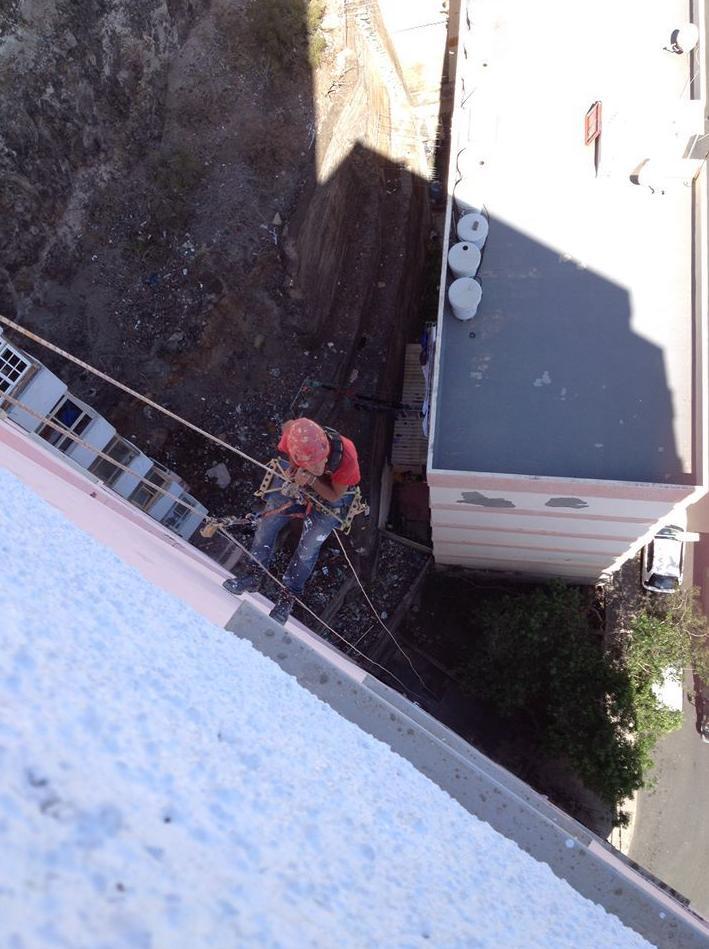 Trabajos en altura Tenerife