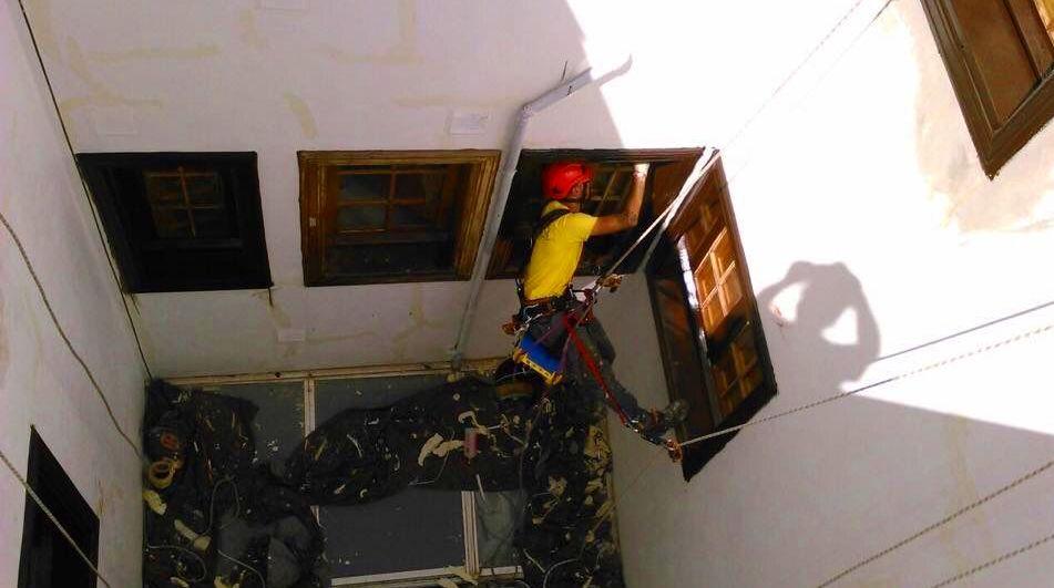 Foto 317 de Trabajos verticales en Tuineje | Vertimax
