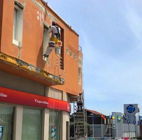 Rehabilitación de patios Las Palmas