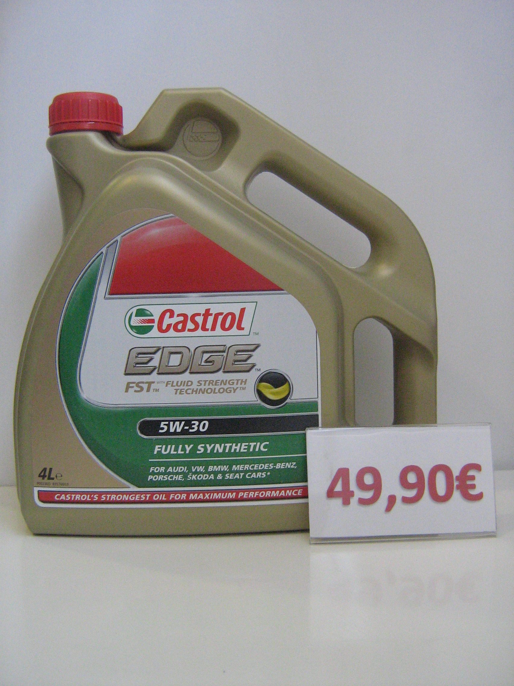 CASTROL 5W30 (LONG LIFE).: Servicios de Safety Car