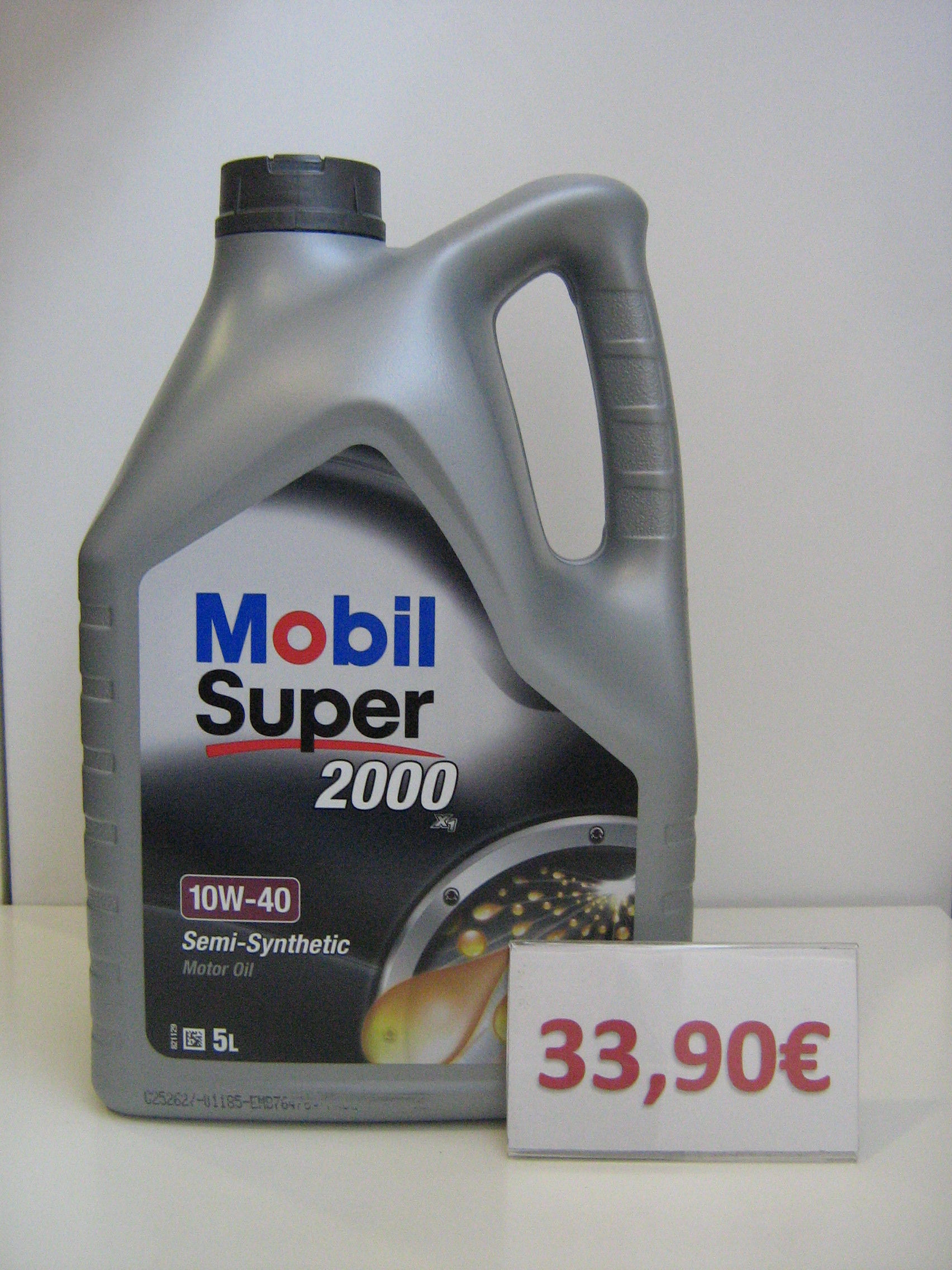 mobil super 2000x1 10w40: Servicios de Safety Car