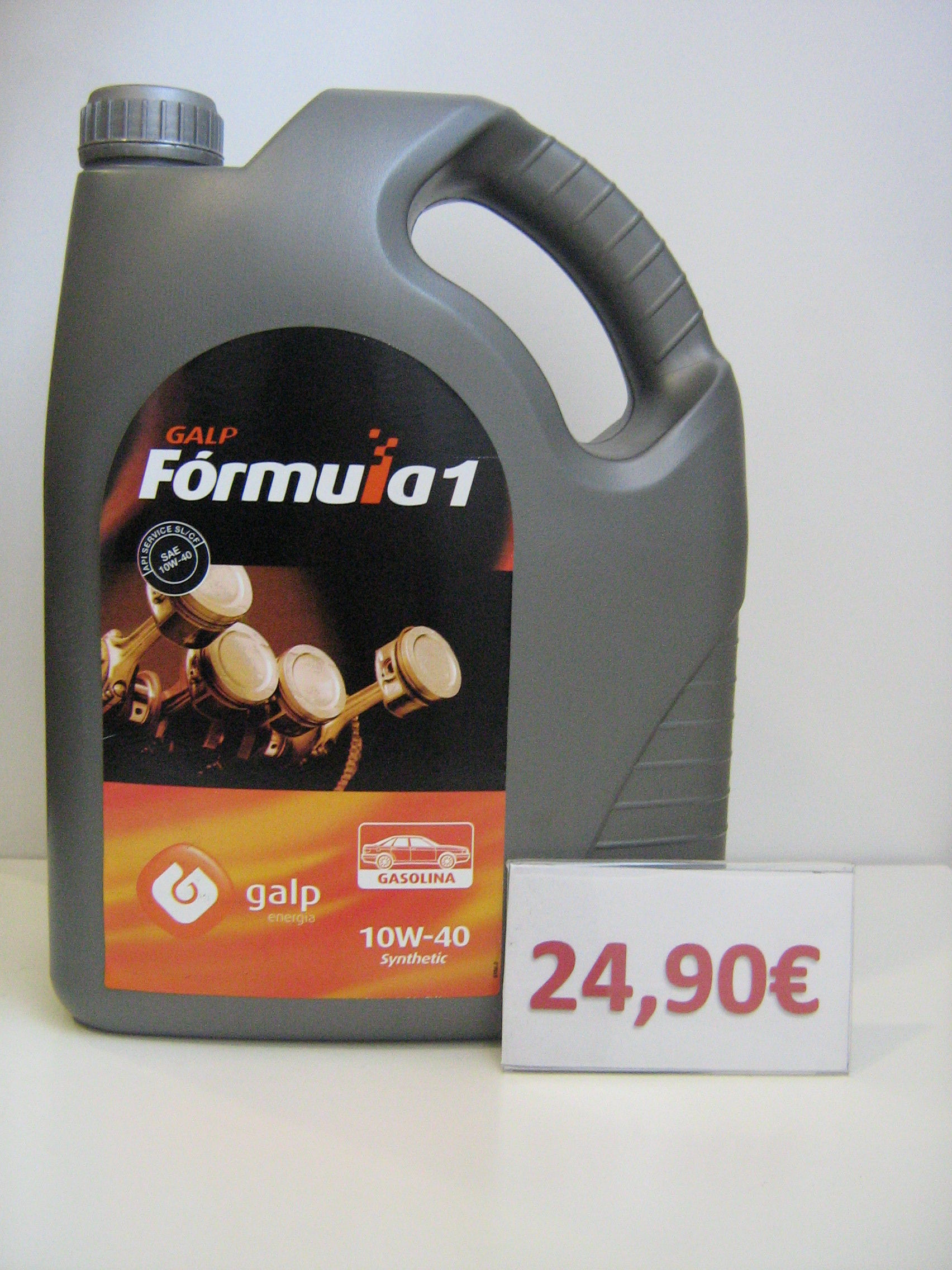 GALP FORMULA 1 GASOLINA 10W40 : Servicios de Safety Car