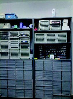 Distribución de productos para laboratorios