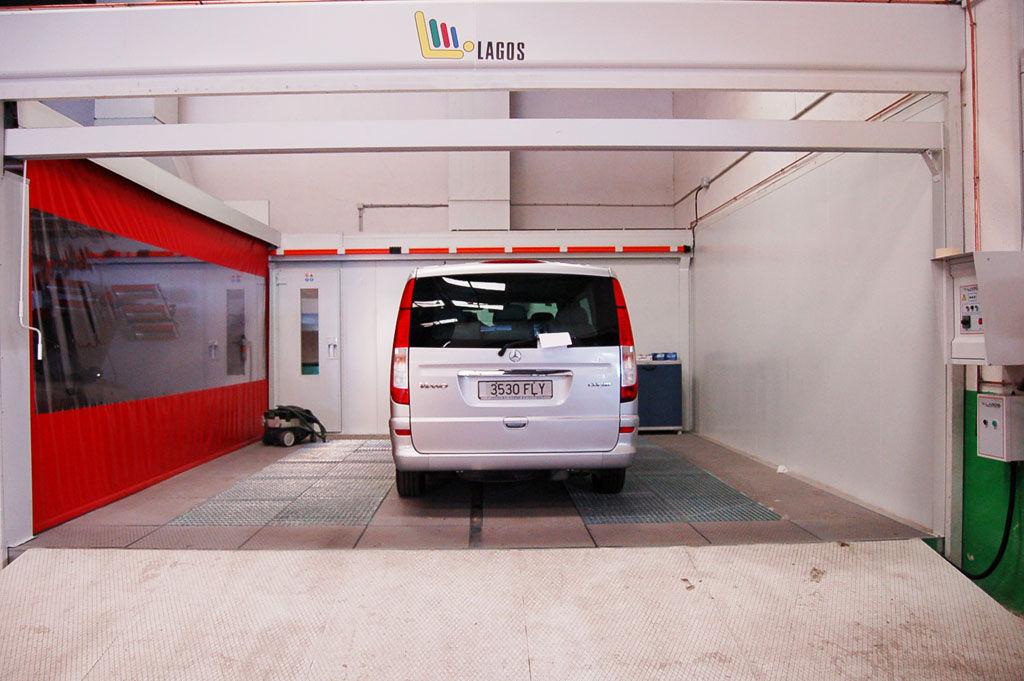 Foto 1 de Talleres de chapa y pintura en Jaén   Auto Rapid