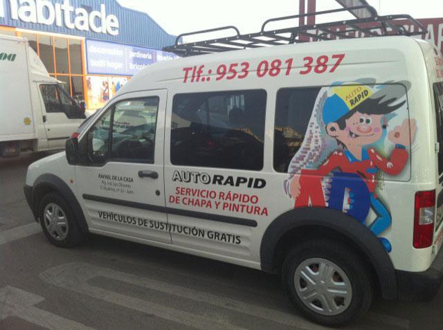 Foto 29 de Talleres de chapa y pintura en Jaén | Auto Rapid
