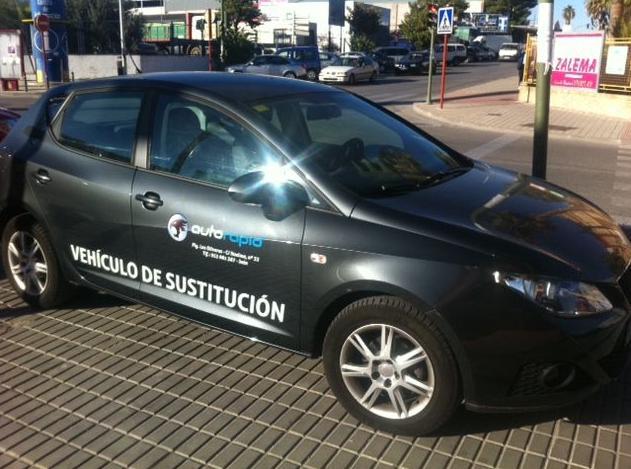 Auto Rapid, taller con vehículo de sustitución en Jaén