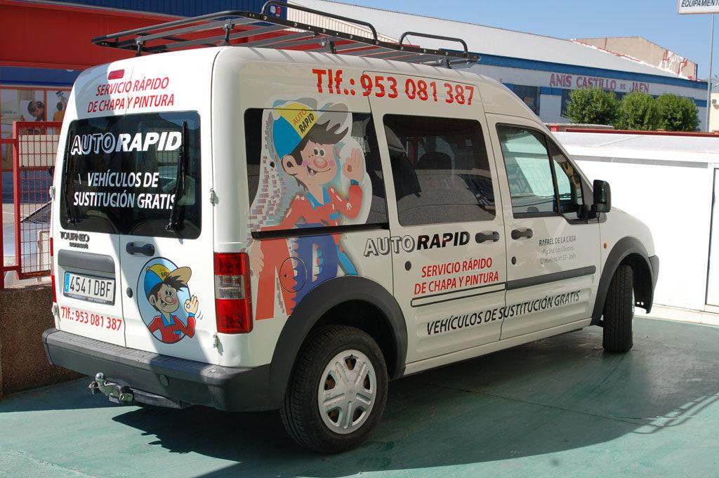 Foto 19 de Talleres de chapa y pintura en Jaén | Auto Rapid
