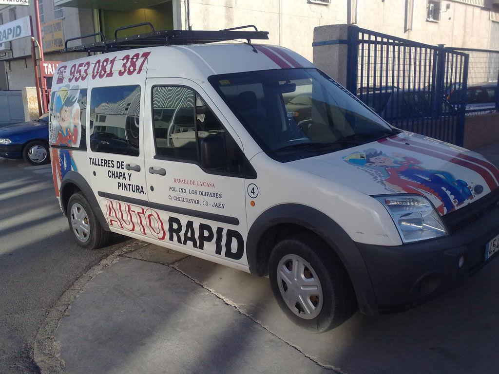 Foto 20 de Talleres de chapa y pintura en Jaén | Auto Rapid