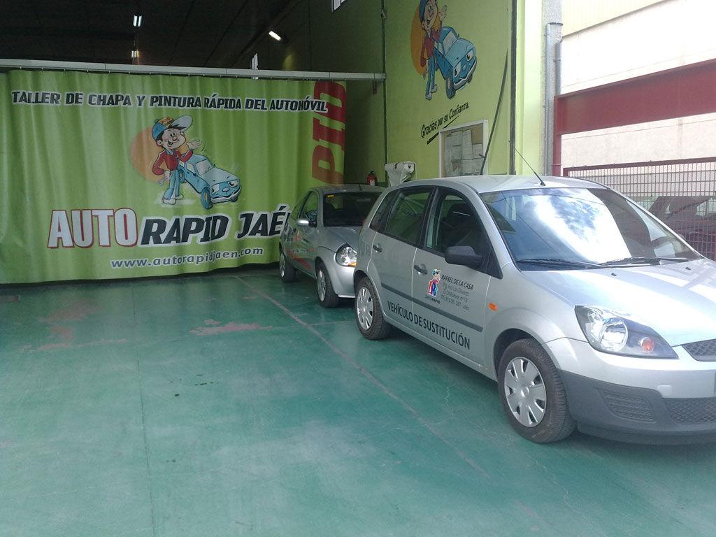 Foto 21 de Talleres de chapa y pintura en Jaén | Auto Rapid