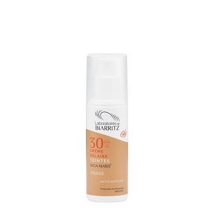 crema facial solar color golden SPF 30 ALGA MARIS 50ml: Productos de Bionatura