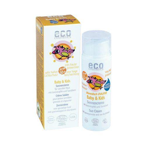 Crema solar bebés 50+ Ecocosmetic 50 ml: Productos de Bionatura