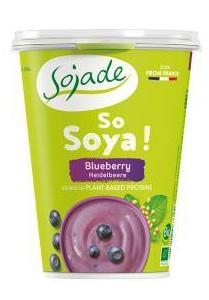Yogur soja de arándanos SOJADE 400gr: Productos de Bionatura