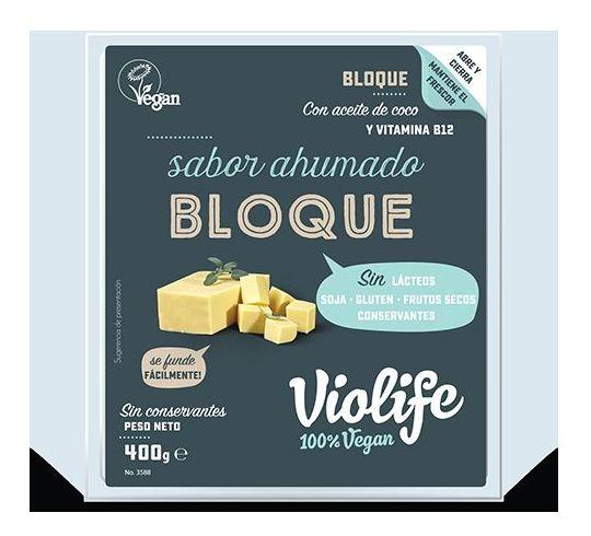 Bloque vegano ahumado VIOLIFE 400gr: Productos de Bionatura