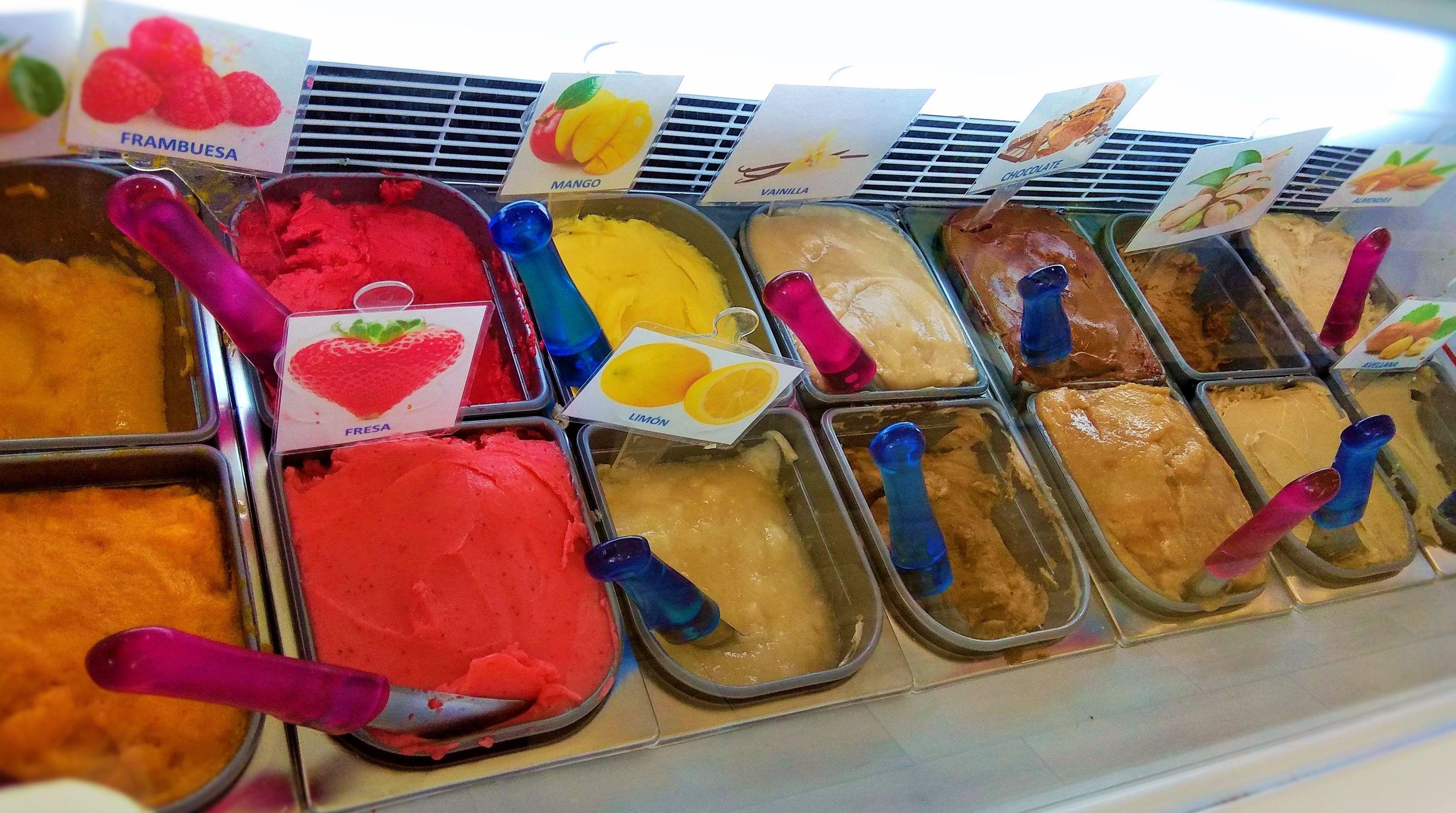 Venta helados ecológicos