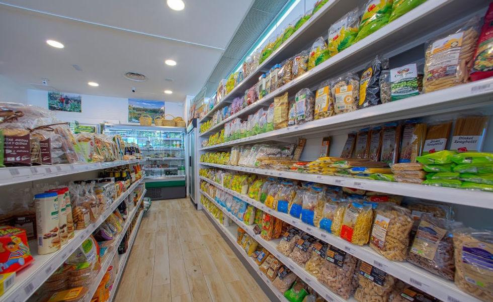 Venta comida orgánica Málaga