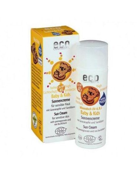 crema solar niños F45 ECOCOSMETICA 50ml: Productos de Bionatura
