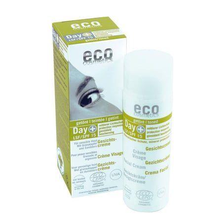 Crema facial color factor 15 Ecocosmestic 50 ml: Productos de Bionatura
